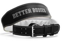 Tyngdlyftarbälte från better bodies.